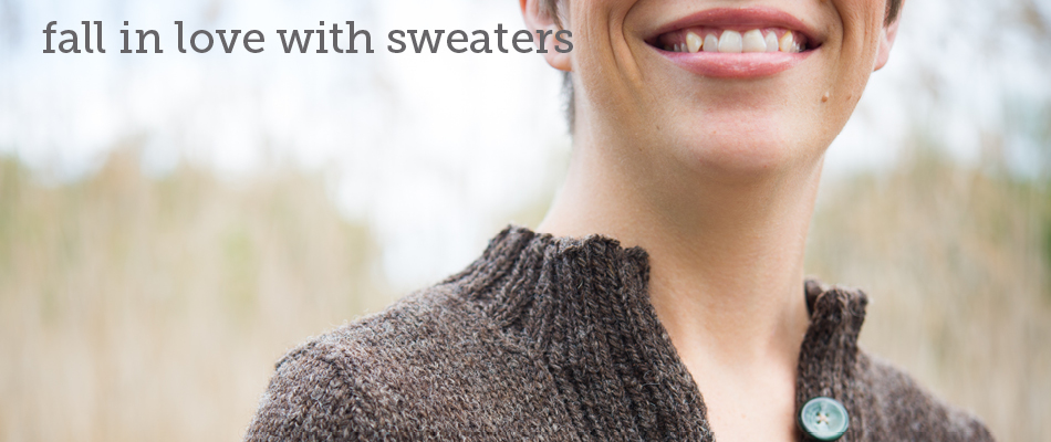 fall in love with sweaters